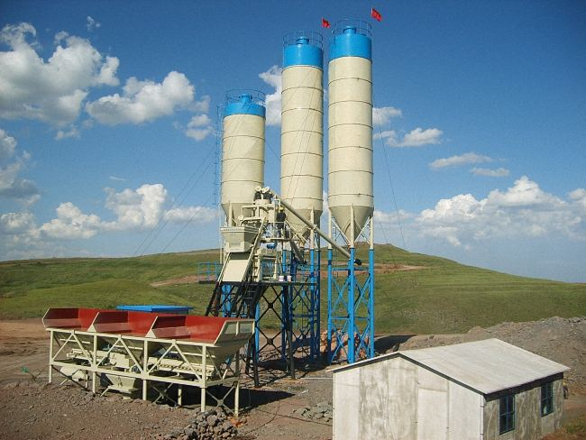 HZS50 Concrete Batching Plant