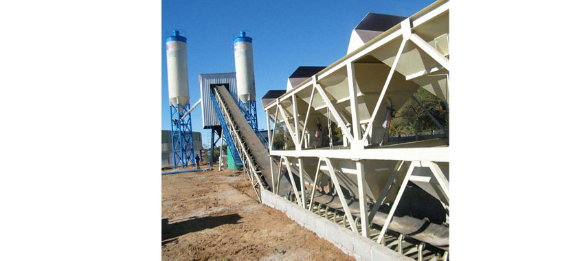 What is the price of an HZS60 concrete mix batching plant