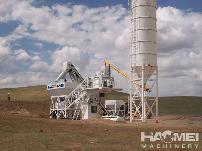 How to maintain a mobile concrete batch plant