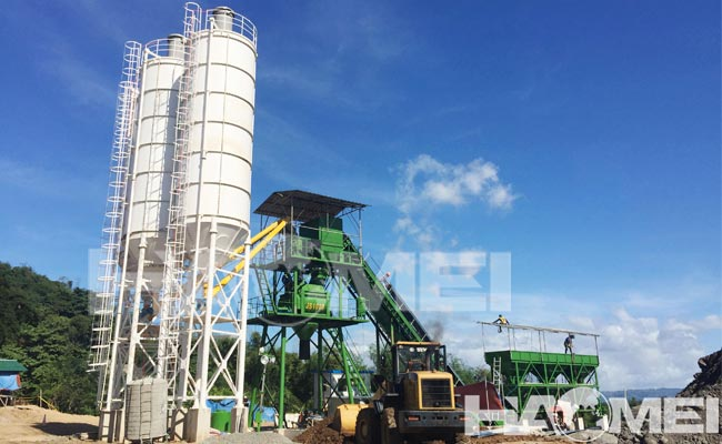 Buy stationary concrete plant low prices