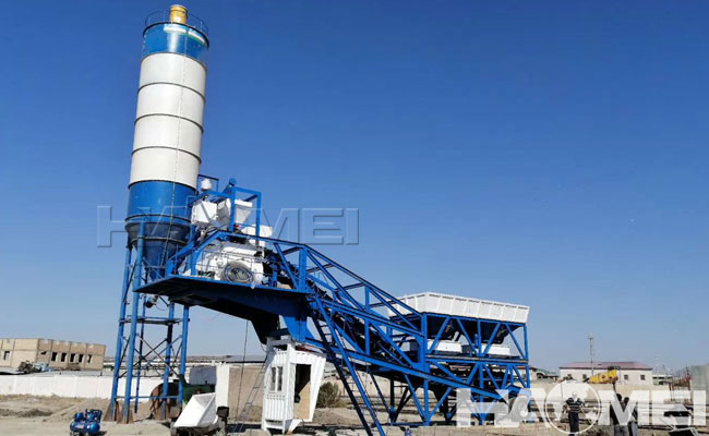 batching plant mobile china