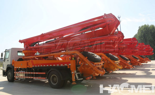 concrete pump truck cost to buy