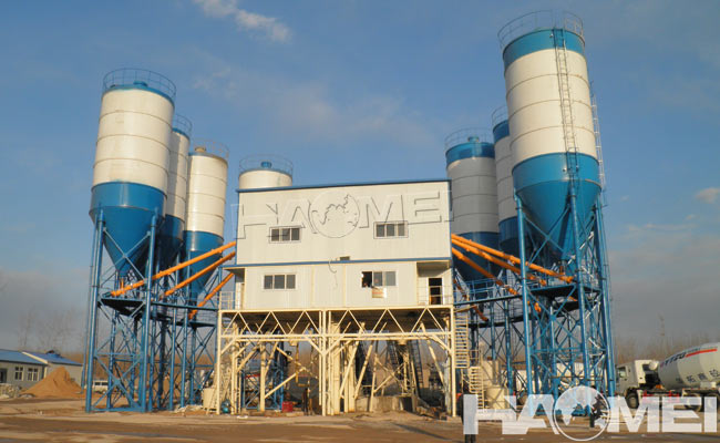cost of ready mix concrete plant